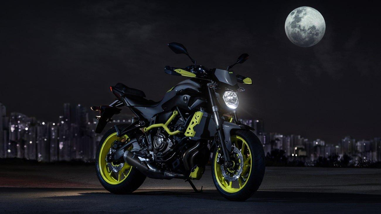 yamaha s radically styled 2016 mt 07 moto cage motorcycle life. Black Bedroom Furniture Sets. Home Design Ideas