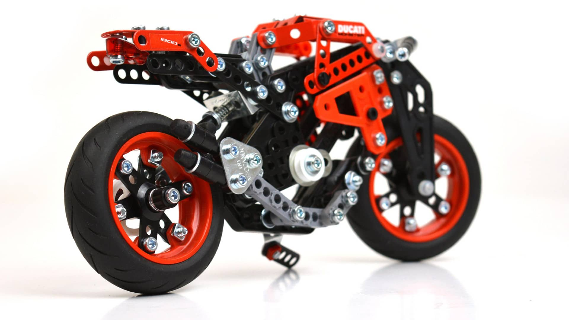 Ducati Monster 1200 Meccano Set