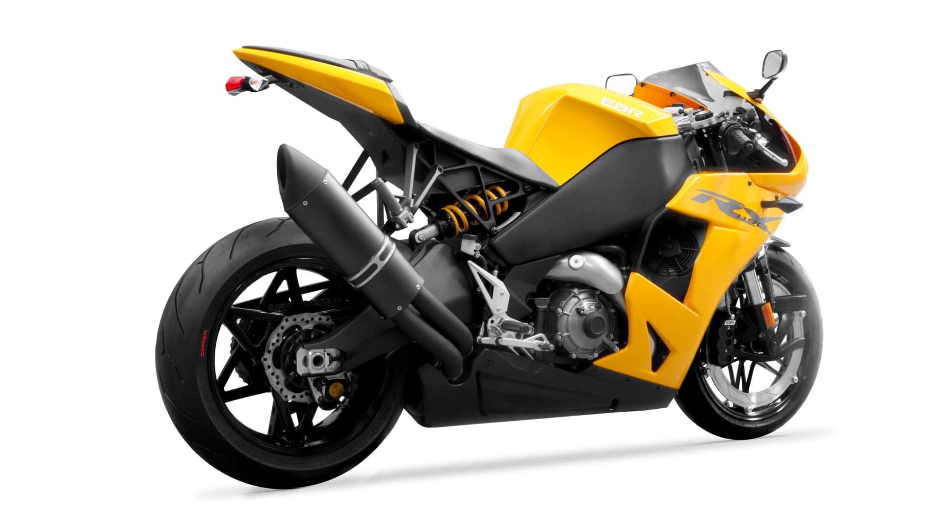 2016 model EBR 1190RX in yellow colour scheme