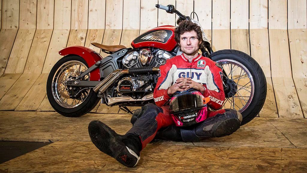 Guy Martin at the Wall of Death