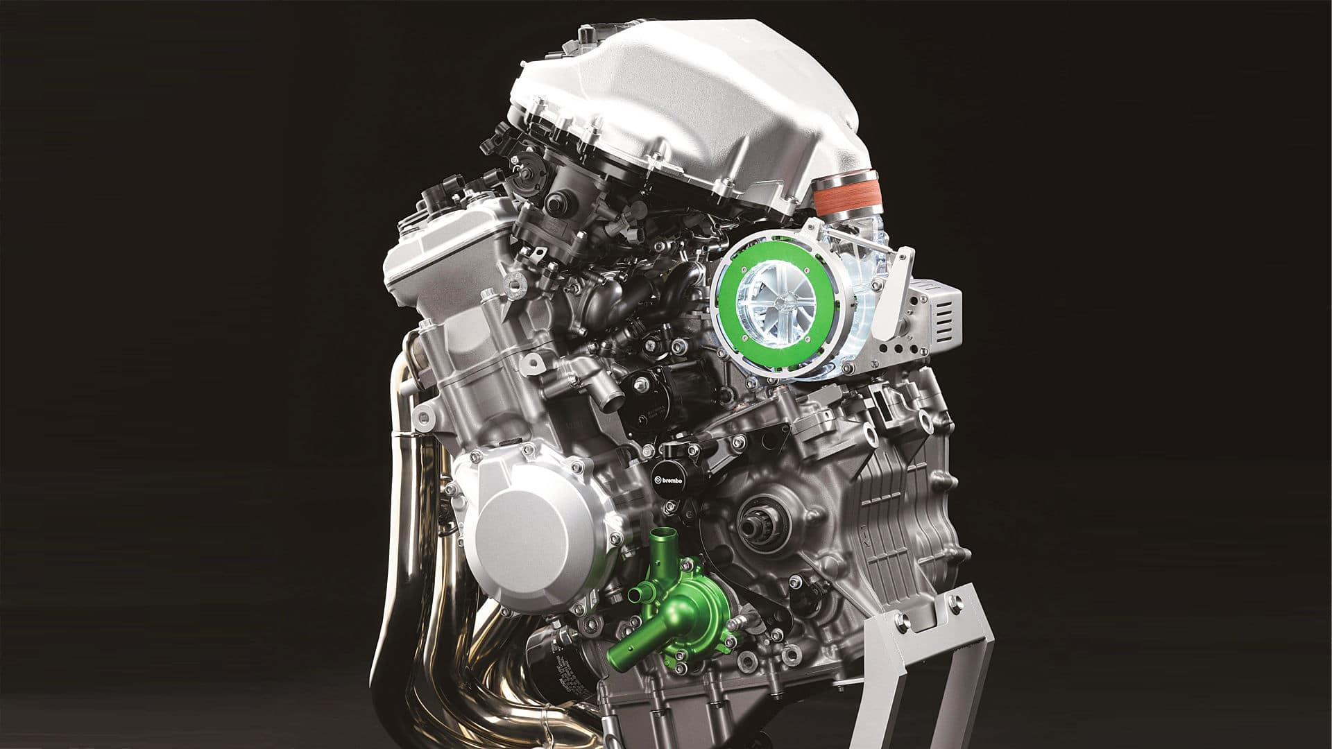 "Kawasaki ""Balanced Supercharged Engine"""