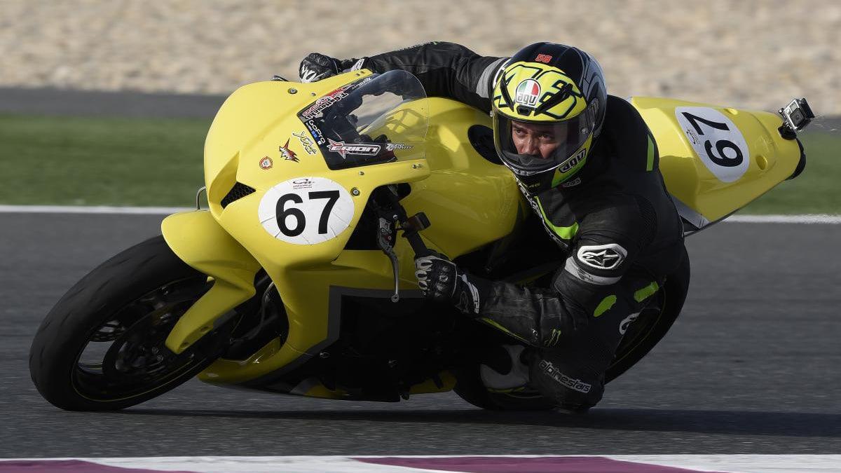 Taoufik Gattouchi on track