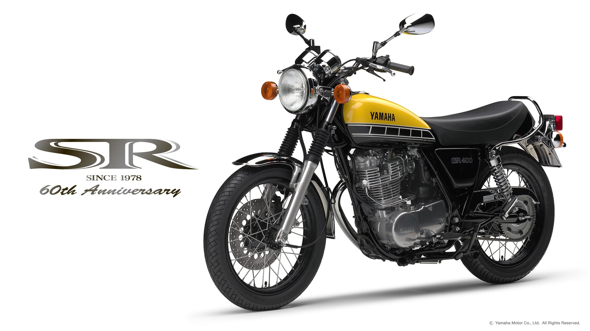 The Yamaha SR400 60th Anniversary Edition is set to be a collectible ...