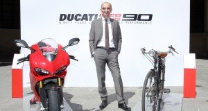 Ducati 90th anniversary press conference