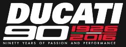 Ducati 90th Anniversary logo