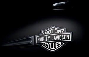 Harley-Davidson tank badge