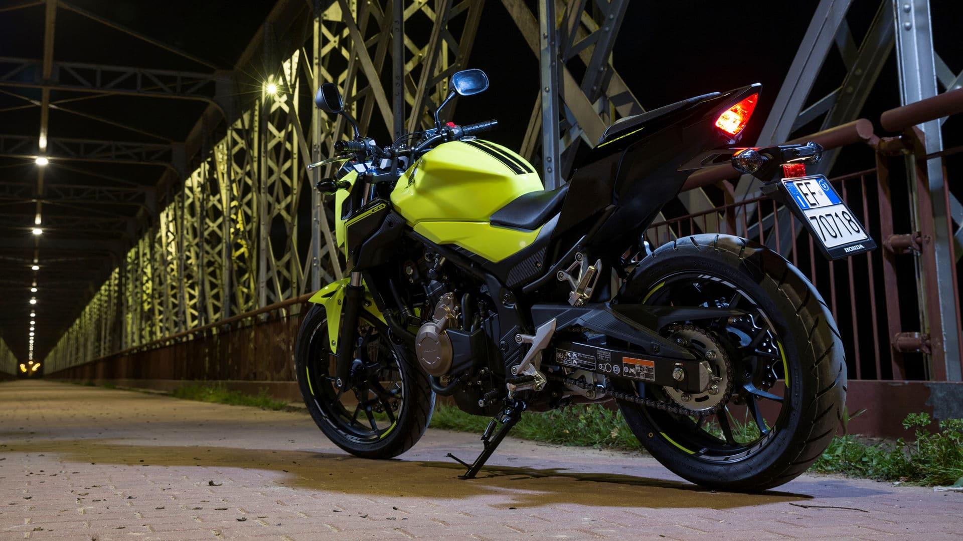 Upgraded 2016 Honda CB500F In Dealerships