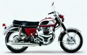 The original Kawasaki W1 from 1966.