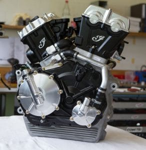 Indian Motorcycle Scout FTR 750 Engine