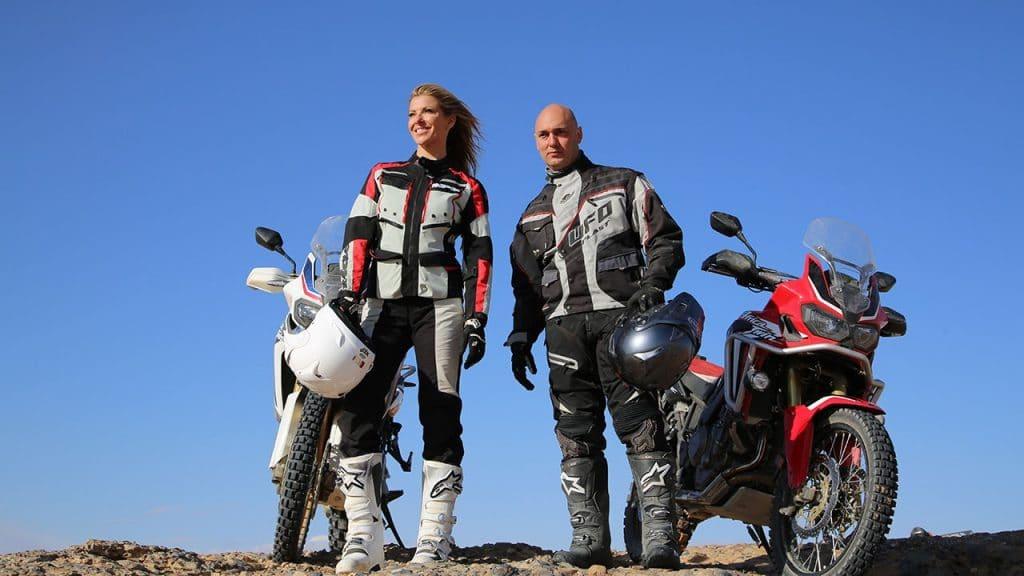 Laura Csortan and Christophe Barriere-Varju