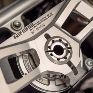 2017 Ducati 1299 Panigale S Anniversario headstock
