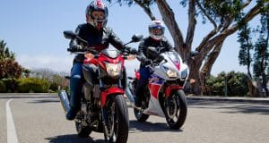 Honda CB300F and CBR300R