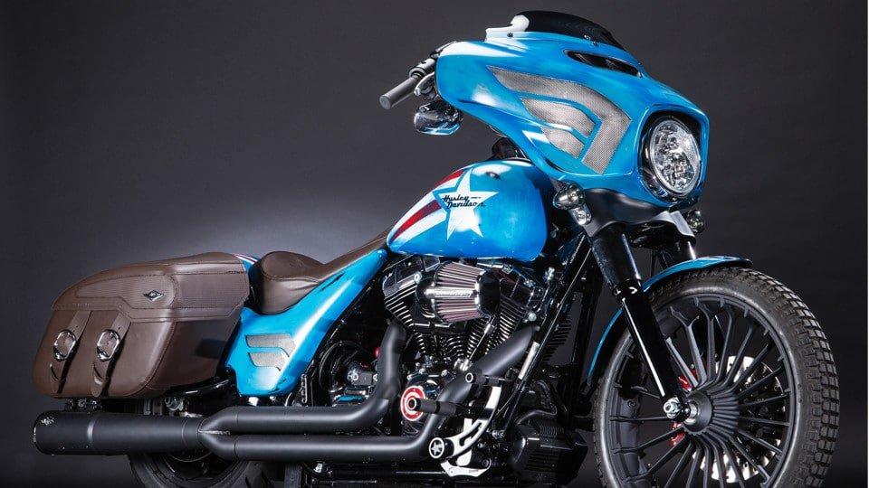 Captain America Harley-Davidson Custom