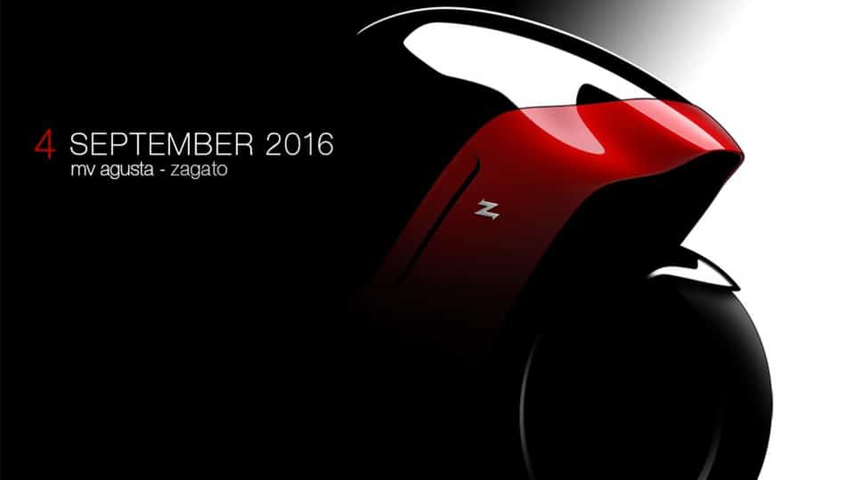 MV Agusta - Zagato September Reveal