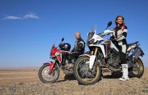Christophe Barriere-Varju and Laura Csortan