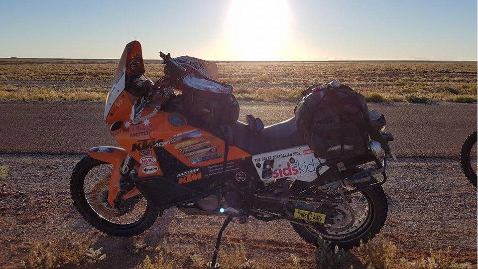Stuart's KTM990 Adventure