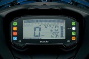 2017 Suzuki GSX-R125 Instruments