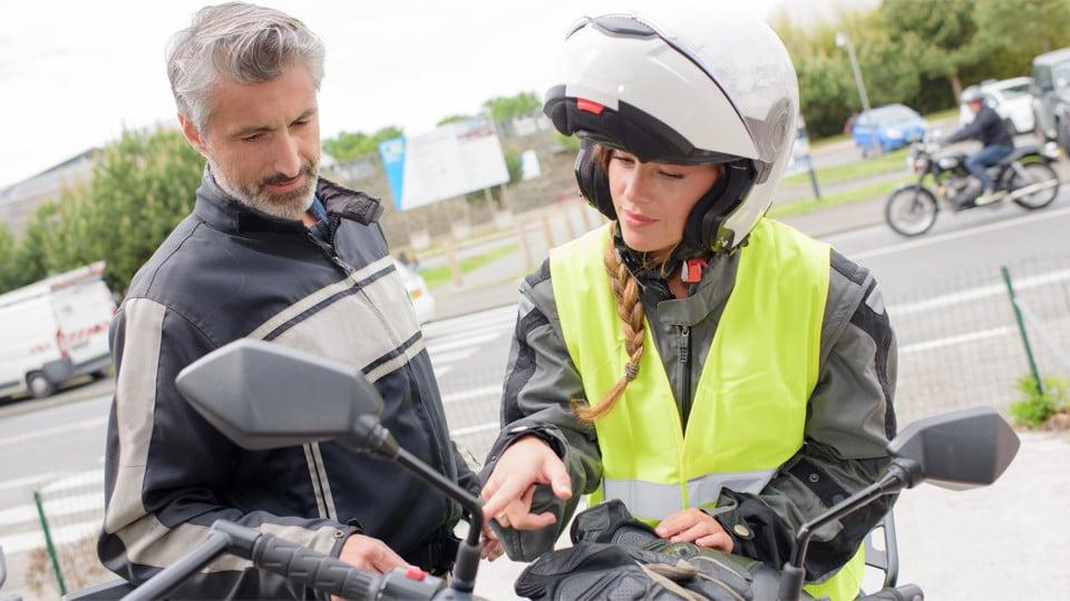 Motorbike student