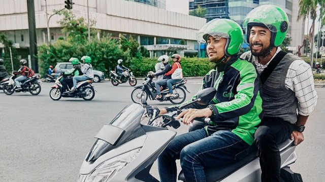 GrabBike ride-sharing