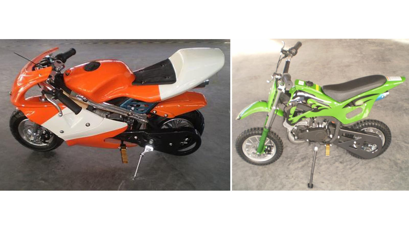 Global Ringwood 49cc mini-bikes