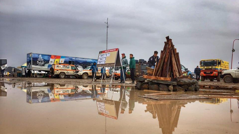 Dakar Stage 6 washed out.