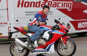 Guy Martin Signs With Honda