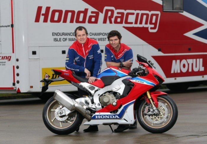 Guy Martin and John McGuiness