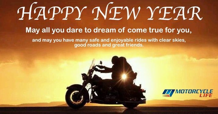 Happy New Year from Motorcycle Life