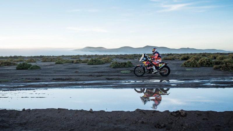 Sam Sunderland Dakar Stage 8