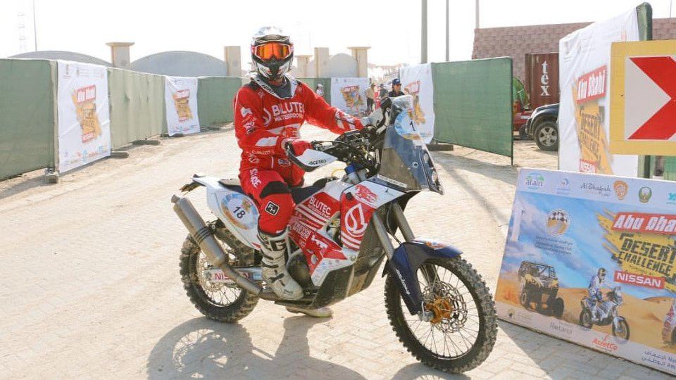 Trevor Wilson Abu Dhabi Desert Challenge