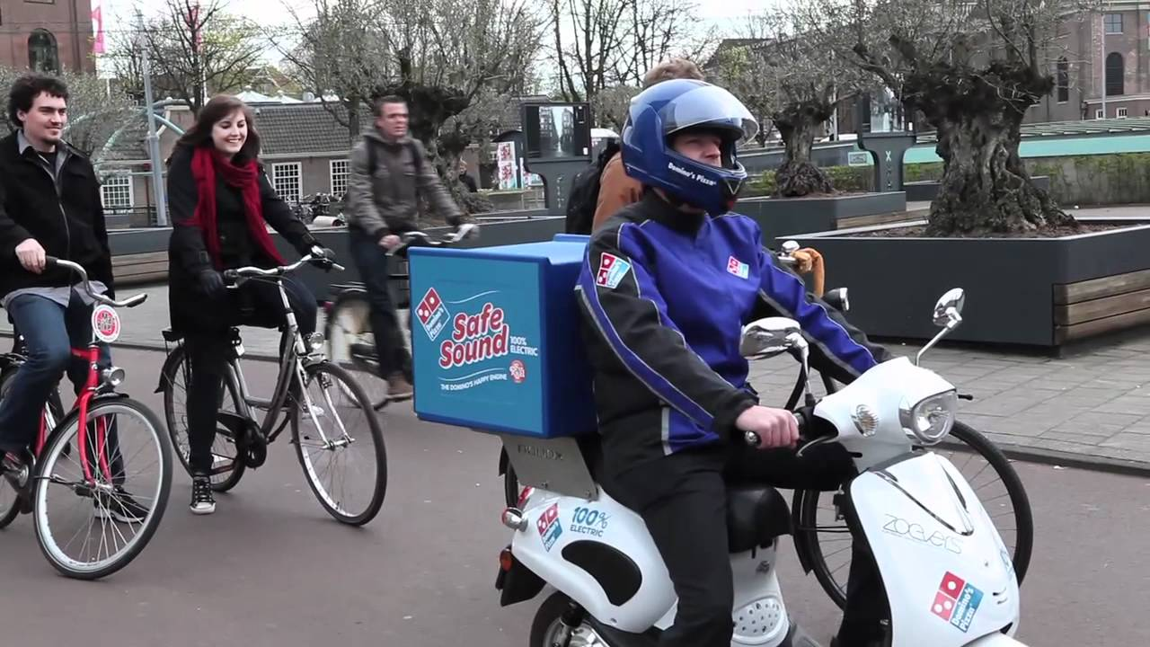 Friday Funnies – Domino's Electric Delivery Scooters ...