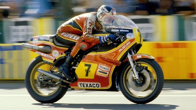 Barry Sheene Suzuki