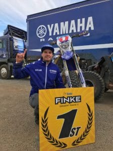 Stokie stamps his name in Finke History