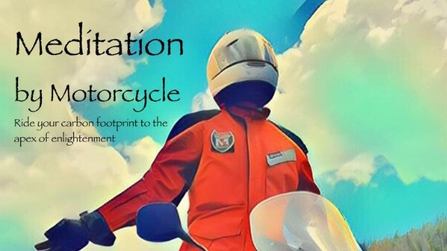 Meditation by Motorcycle - Cover