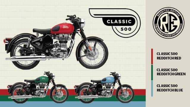 Royal enfield launches limited edition redditch 500 for Royalenfieldlesite