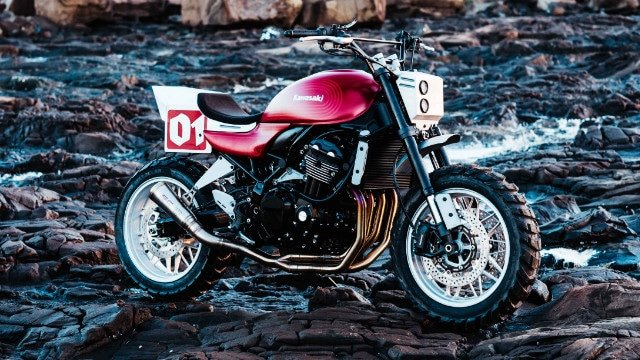 Deus Kawasaki Z900RS Stone Tracker