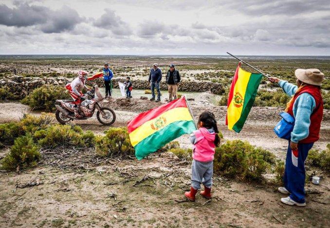 Bolivian Dakar fans