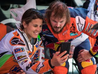 Laia Sanz and Toby Price