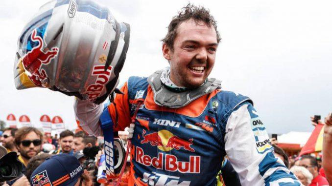 Matthias Walkner wins the 2018 Dakar