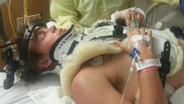 Toby Price in hospital