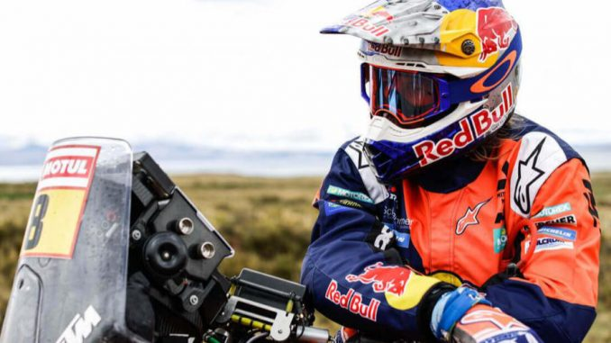 Toby Price portrait Dakar 2018