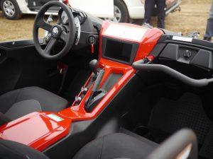 Yamaha YXZ1000R SS SE interior