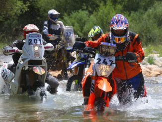 Hellas Rally 2018 day 3 river crossing