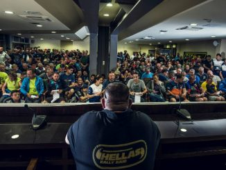 Hellas Rally Raid 2018 day 1 competitor briefing