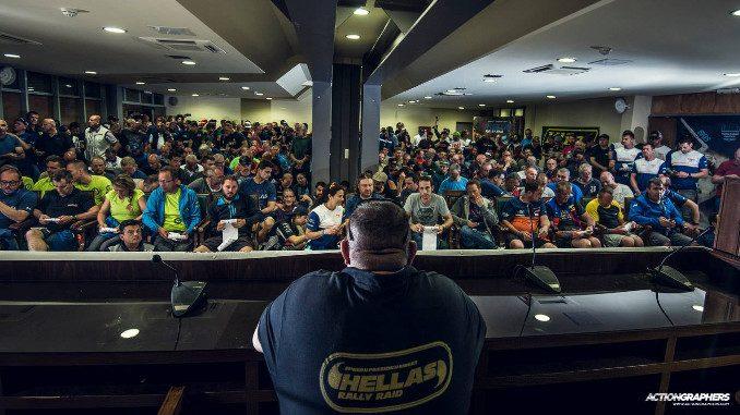 Hellas Rally Raid 2018 day 1 competitor briefing
