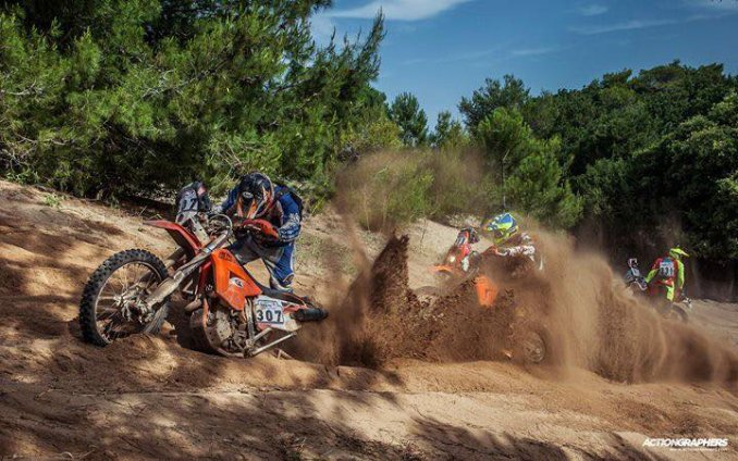 Hellas Rally Raid 2018 - tough sand dunes